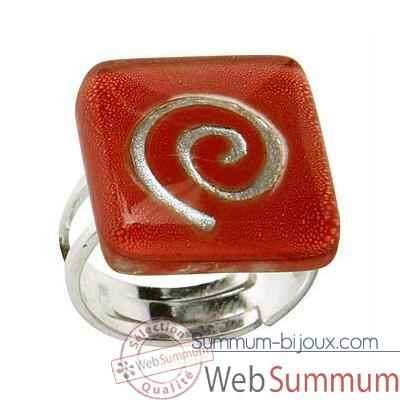Video BcommeB-Bague carree, 2cmx2cm-bc56w