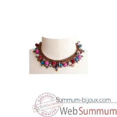 Video Joyaux de la couronne-Collier pele-mele encres-copelenc