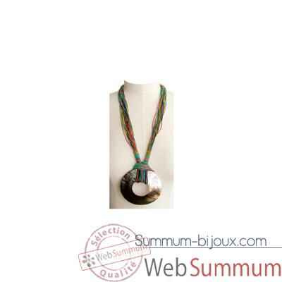 Video Joyaux de la couronne-Collier talisman long encres-cosatalenc