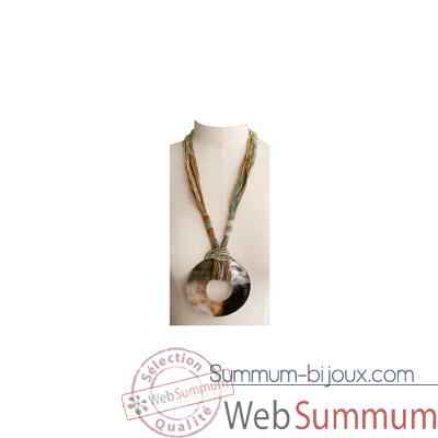 Video Joyaux de la couronne-Collier talisman long fresques-cosatalfre