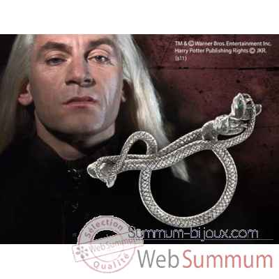 Bague trois serpents de lucius malefoy Noble Collection -NN7225