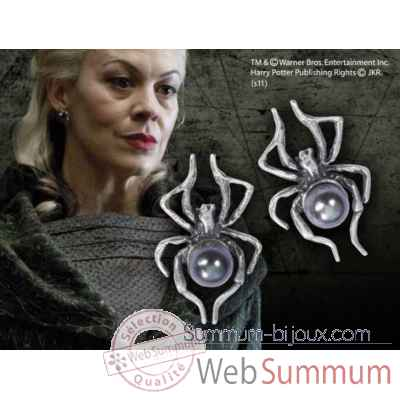 Boucles d\\\'oreilles de narcissa malefoy Noble Collection -NN7846