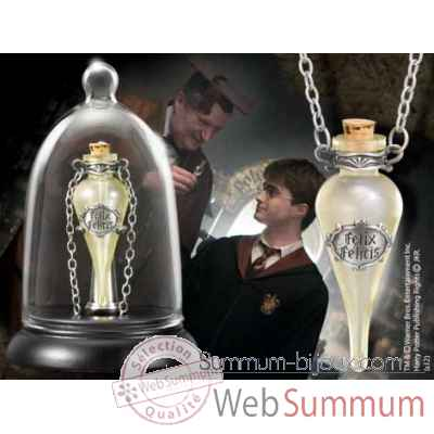Felix felicis - pendentif et support Noble Collection -NN8599