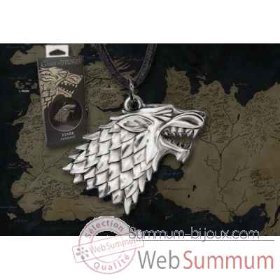 Got - stark pendentif - replique Noble Collection -NNXT0085