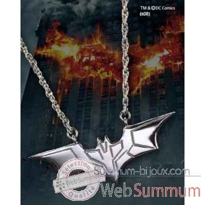 Pendentif argent - dark knight Noble Collection -NN4725