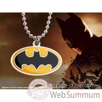 Pendentif embleme batman Noble Collection -NNXT8325