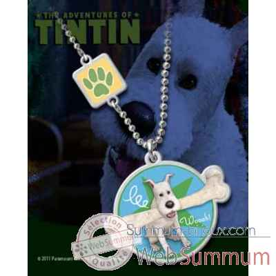 Tintin - pendentif milou Noble Collection -NN2074