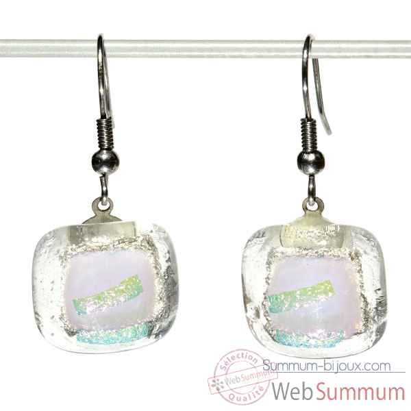 Boucles d'oreille crochet collection brillance innocence Rozetta -321sF